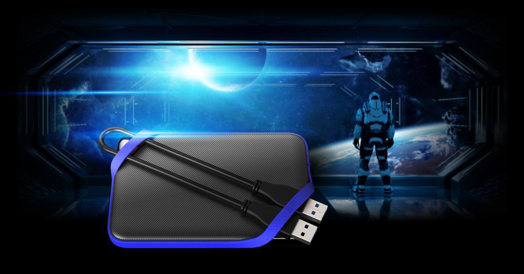 A62 Game Drive<br><font color='#888888' size='2%'>1TB, 2TB, 4TB, 5TB</font> Convenient Design