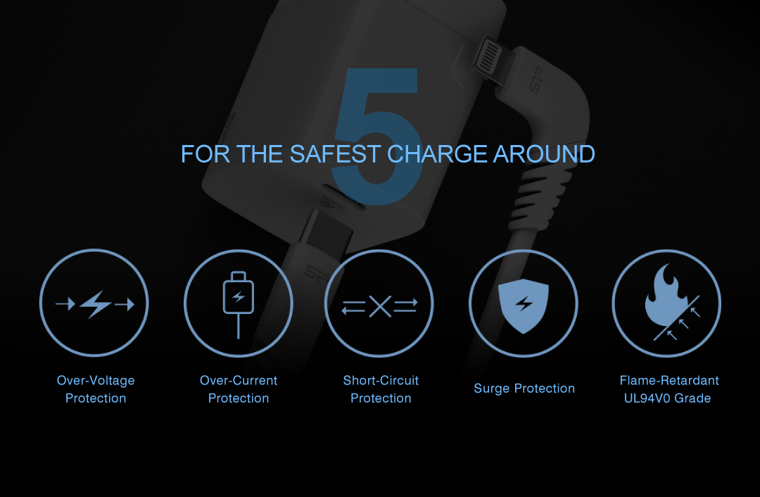 Boost Charger QM10 Combo<br><font color='#888888' size='2%'>(Quick Charge)</font> For The Safest Charge Around
