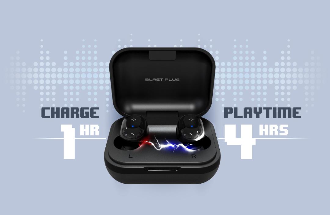 Blast Plug BP75 More Music, Less Charge Time