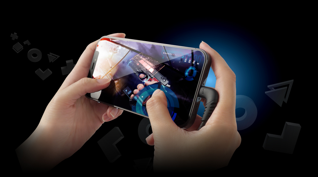 Boost Link Nylon LK50CL<br><font color='#888888' size='2%'>(Type-C / Lightning)</font A Charge-And-Play Mobile Gaming Experience