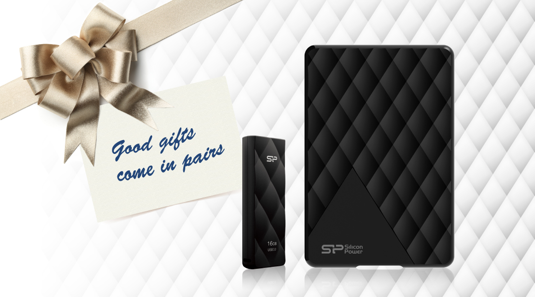 Diamond D06<br><font color='#888888' size='2%'>(portable hard drive)</font> Good gift come in pairs