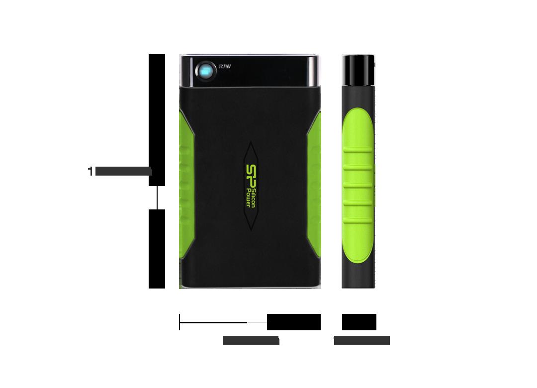 Silicon Power Armor A15 Portable HDD 5