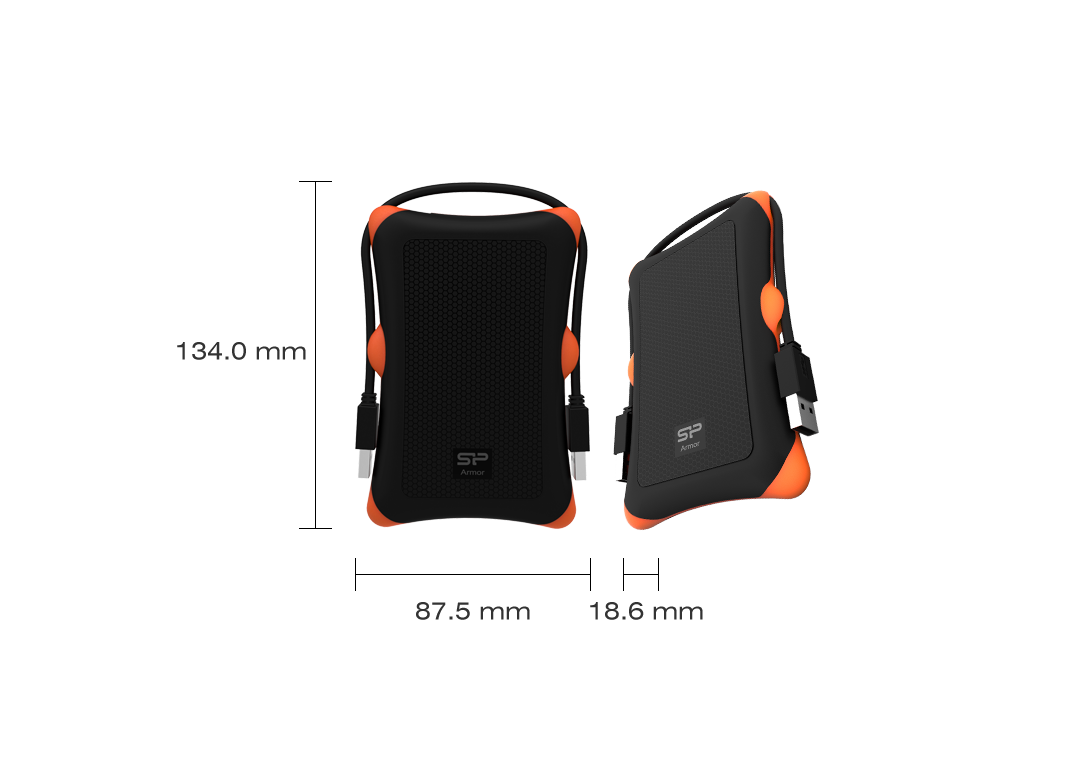 Silicon Power Armor A30 Portable HDD 5
