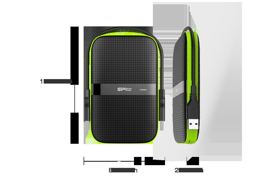 Silicon Power Armor A60 Portable HDD 6