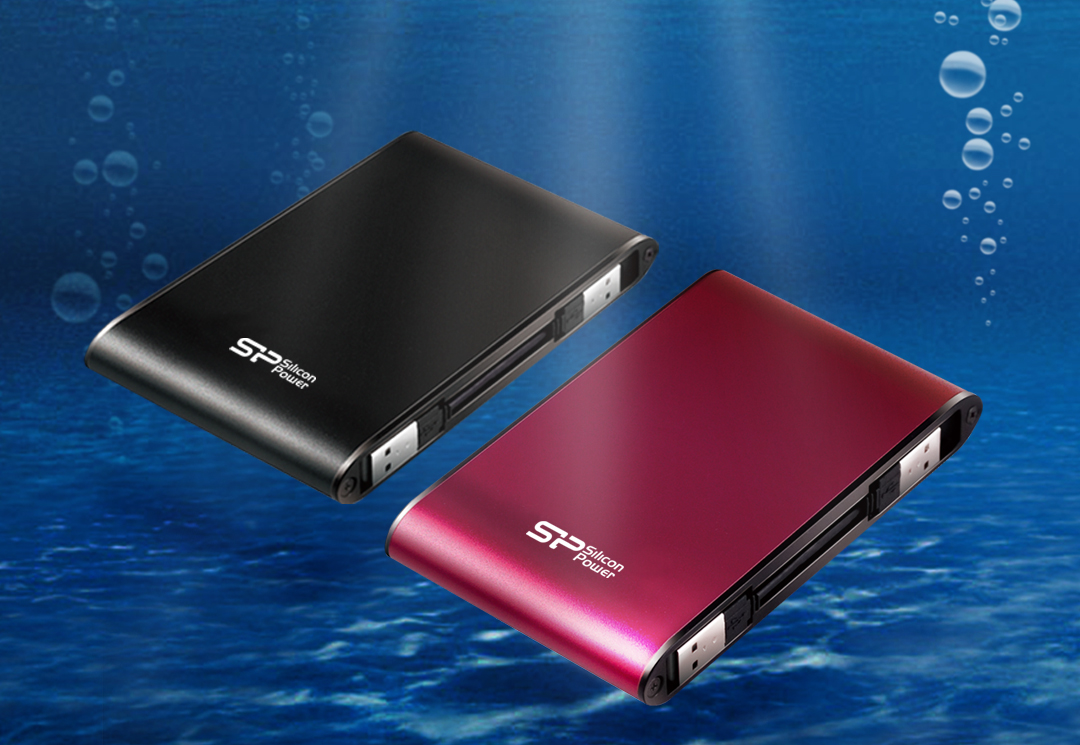 Armor A70<br><font color='#888888' size='2%'>(portable hard drive)</font> Waterproof and Military- grade Shockproof Portable Hard Drive