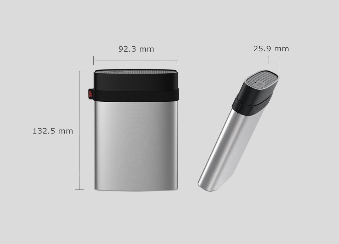 Silicon Power Armor A85 Portable HDD 4