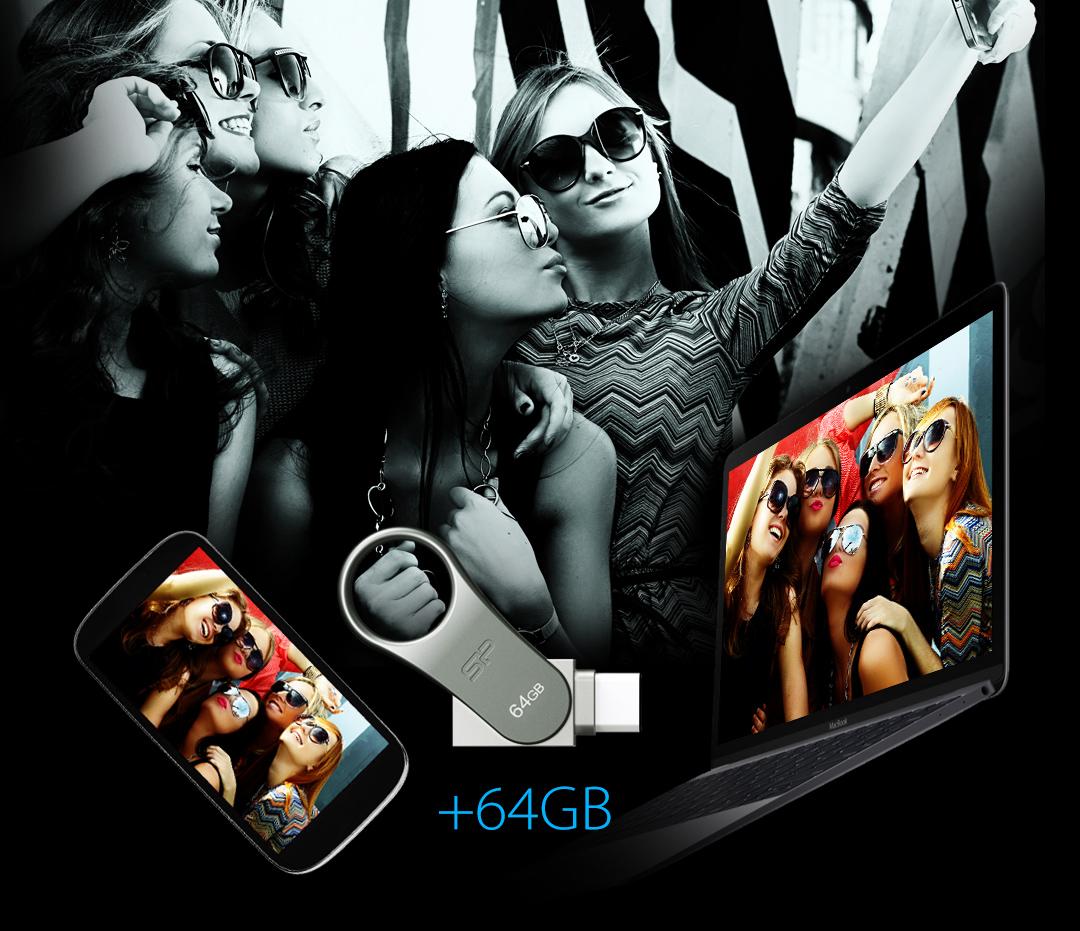 Mobile C80 Моментальное увеличение ёмкости, новые возможности делиться вашими файлами