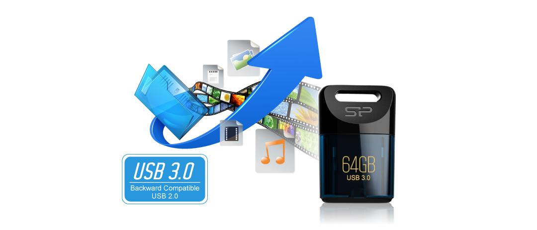 Jewel J06 SuperSpeed USB 3.1 Gen1 interface