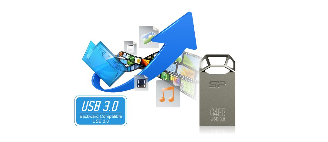 Jewel J50 SuperSpeed USB 3.1 Gen1 interface