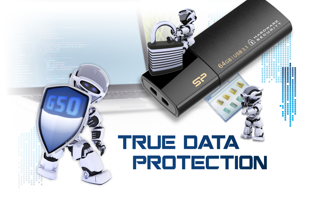 Secure G50 Guard Your Data with AES 256-bit Encryption