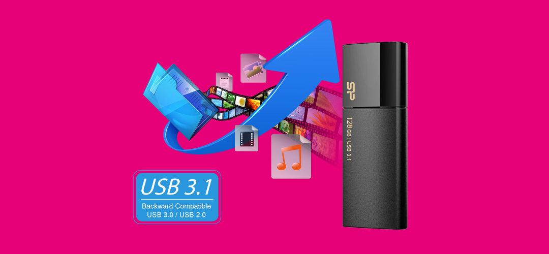 Blaze B05 USB 3.1 Gen1 極速效能展現