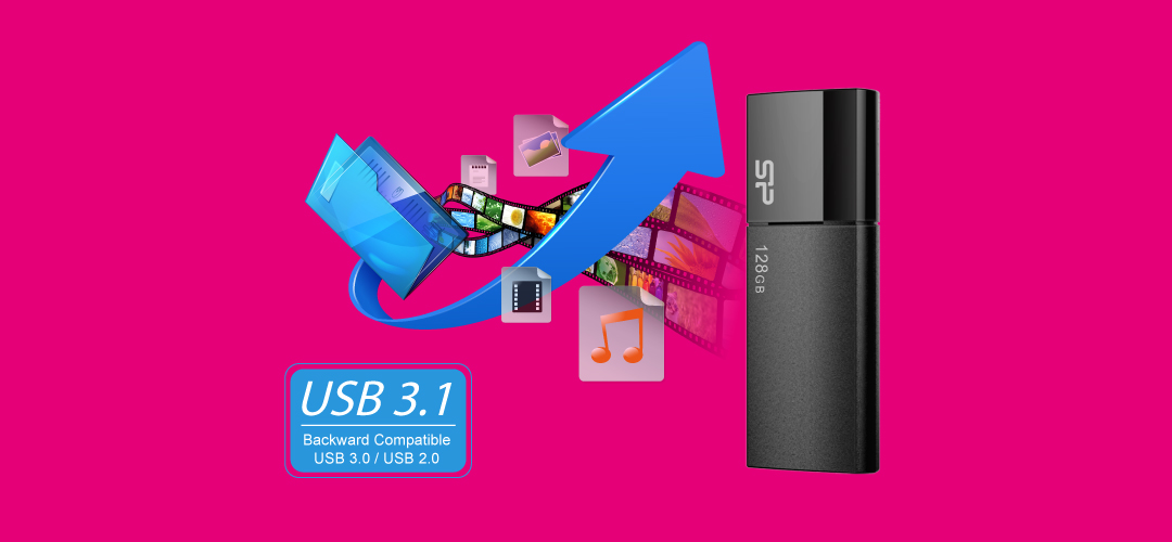 Blaze B05 SuperSpeed USB 3.1 Gen1 interface
