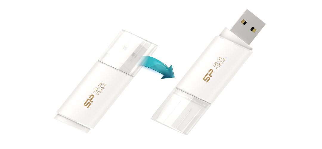 Blaze B06 Snap-on cap design