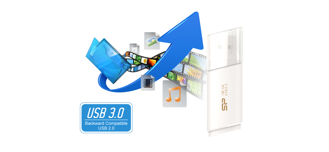 Blaze B06 SuperSpeed USB 3.1 Gen1 interface