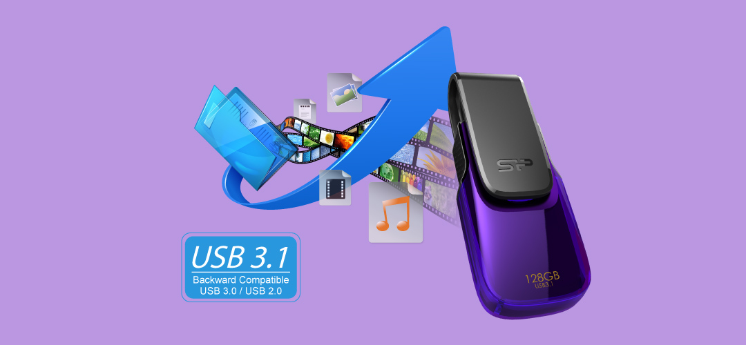 Blaze B31 SuperSpeed USB 3.1 Gen1 interface