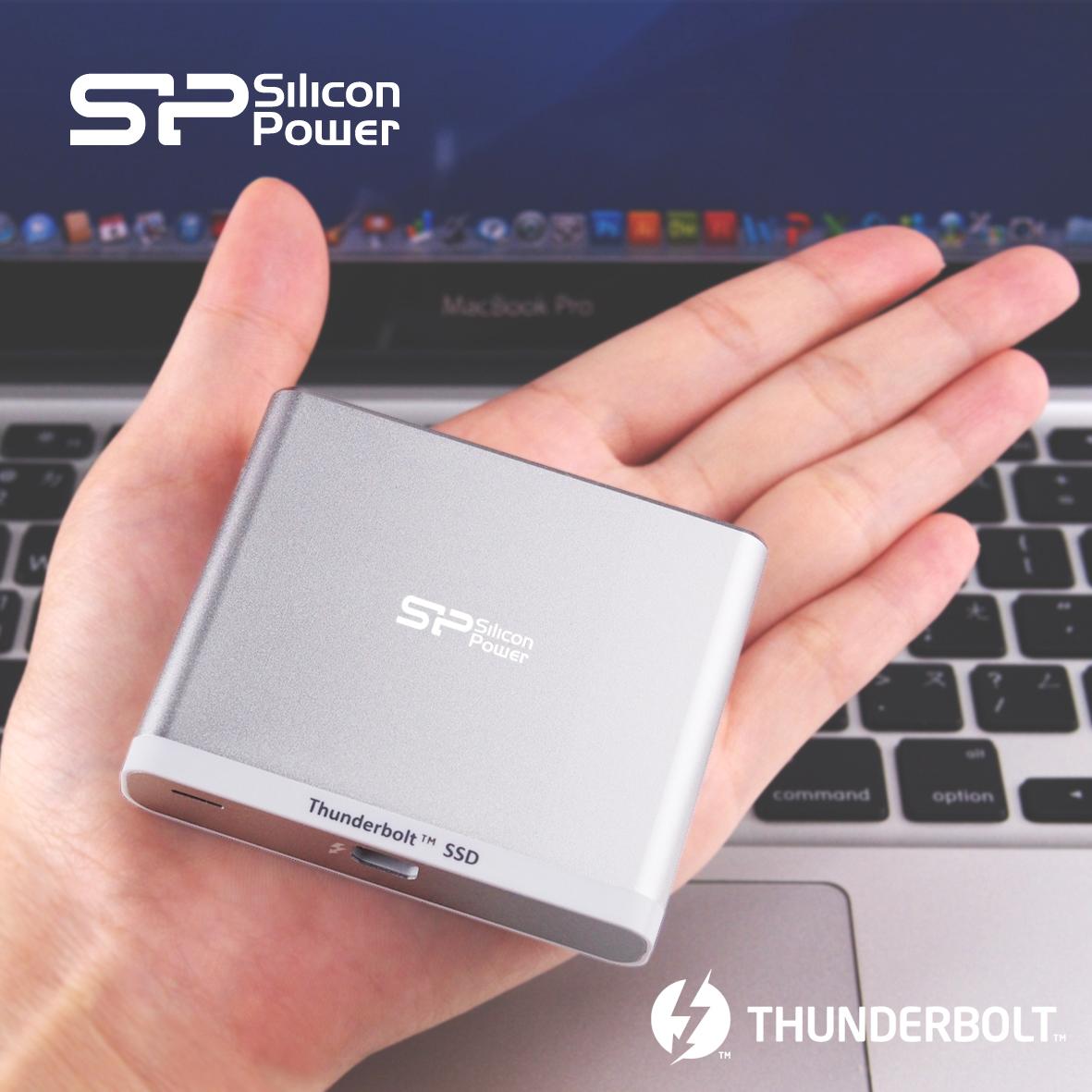 シリコンパワー新設計による軽量・小型・高速Thunderbolt™ 外付けSSD 「Thunder T11」をリリース