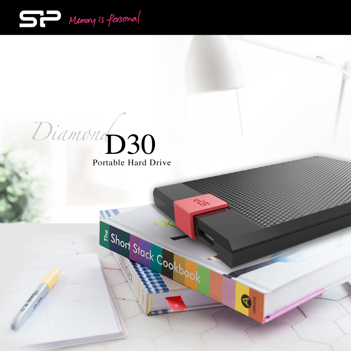 Book Love Gone Digital - SP/ Silicon Power Releases New Portable Hard Drive Diamond D30