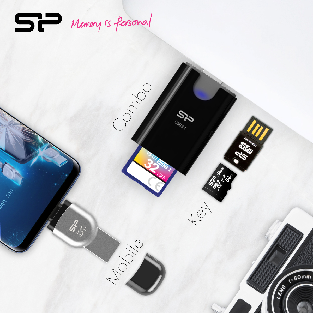 SP Transforms Memory Card Usage with Three New Readers