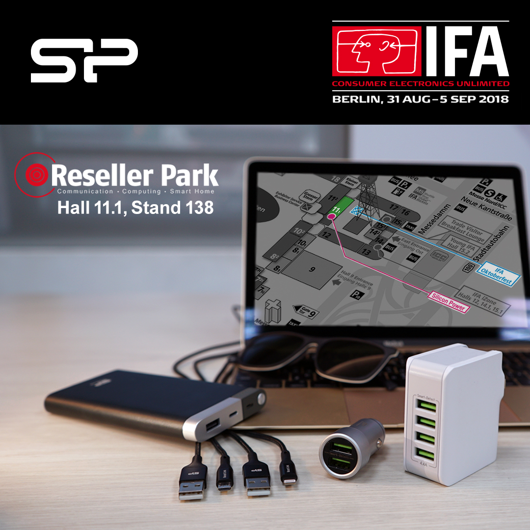 Silicon Power to Take Part in Shaping the Future During 2018 IFA