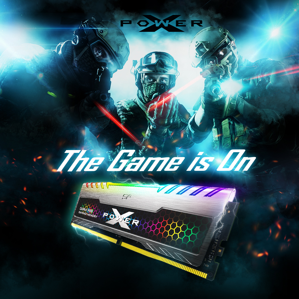 Silicon Power Launches First DDR4 RGB for Gamers