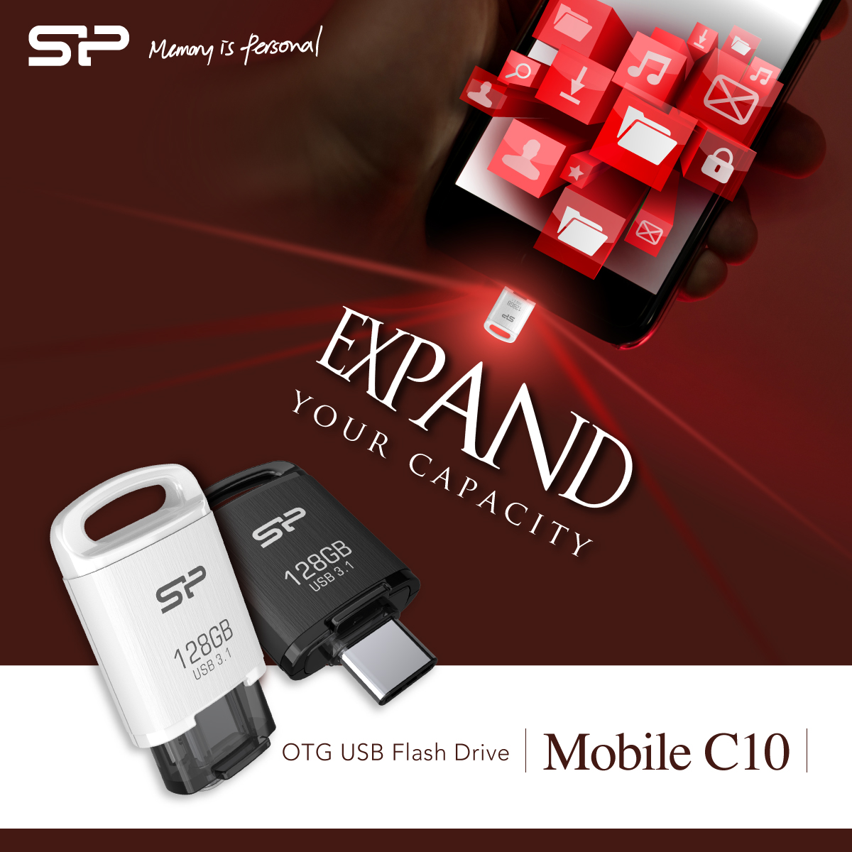 SP Launches Solution for Instant Type-C Storage Expansion, Mobile C10