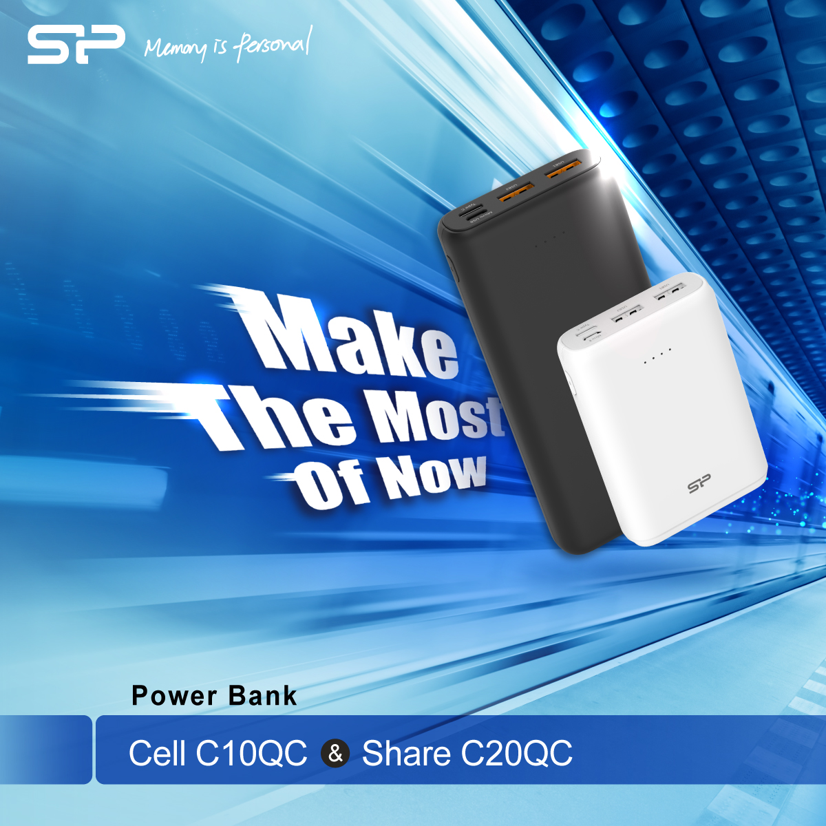 Make the Most of Now with our Newest Power Banks