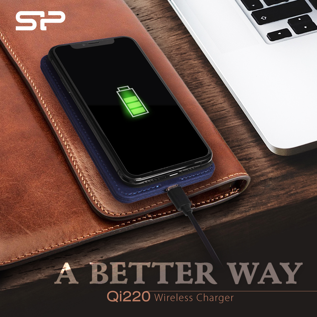 Choose a Better Way, with the New QI220  Wireless Charger