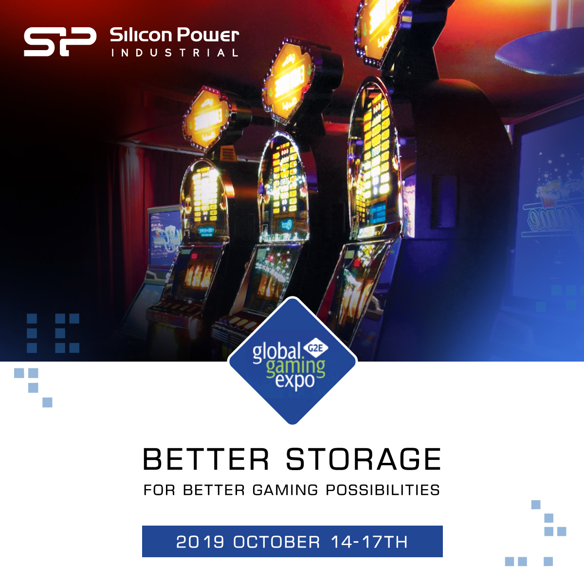 Silicon Power Prepares to Wow Guests at G2E with Industrial Solutions