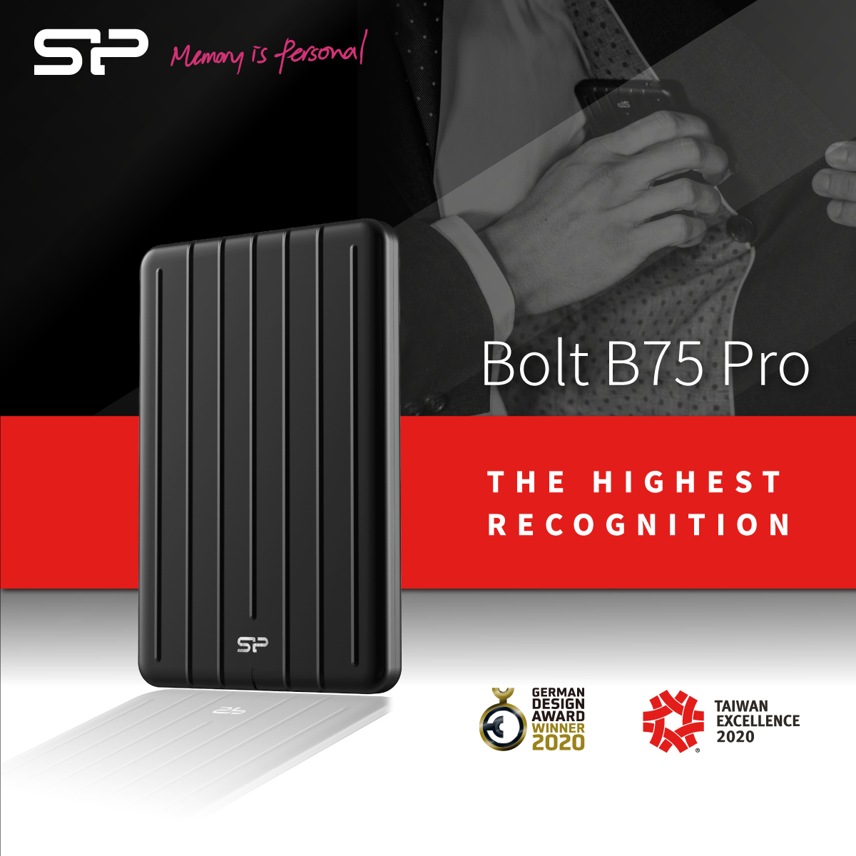 Not One, But Two: The Bolt B75 Pro Wins Two Esteemed Recognitions
